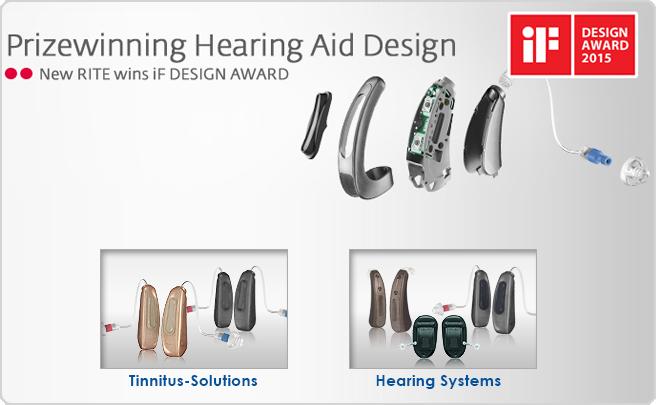 prizewinning heard aid design
